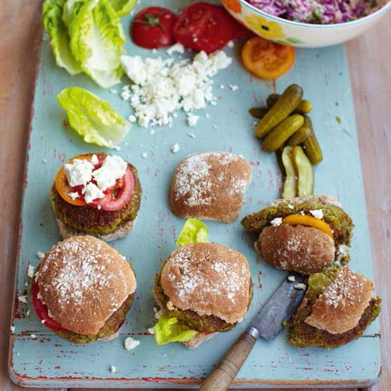 Blije-koeienburgers