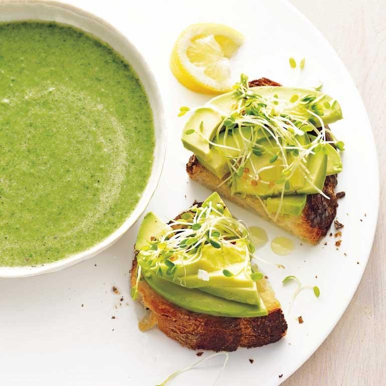 Simpele broccolisoep