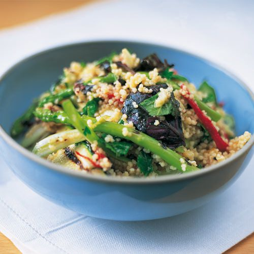 Couscous met gegrilde groente