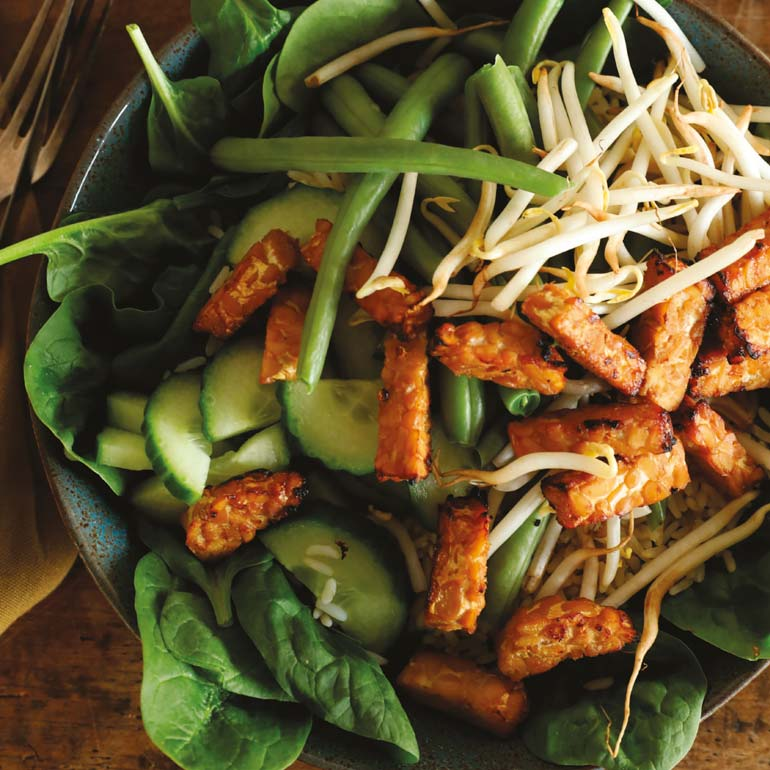 makkelijke oosterse salade