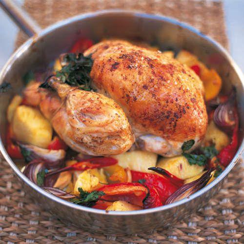 hete kip recept