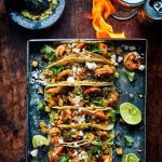 Grilled shrimp & pineapple taco's