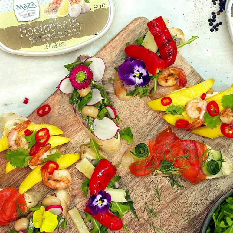 Top Diner voor 4 of meer : Food and Friends #WQ58