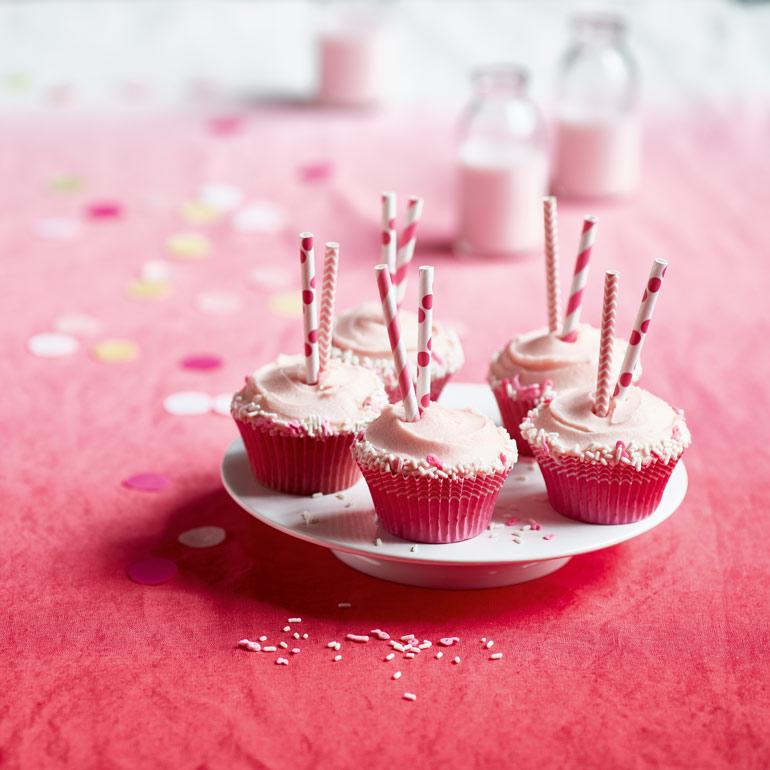 Milkshake cupcakes