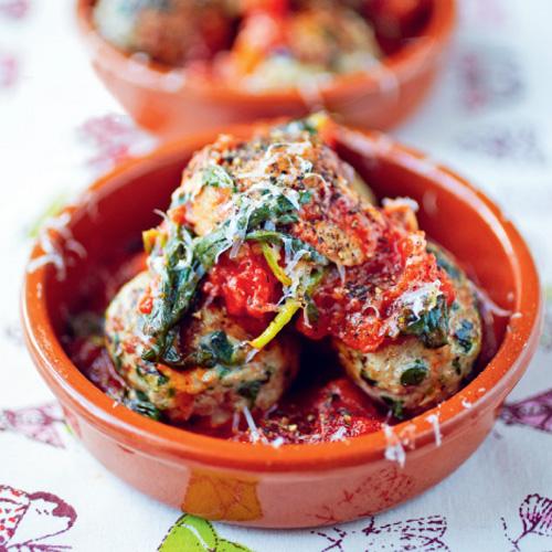 italiaanse gehaktballetjes in tomatensaus jamie oliver