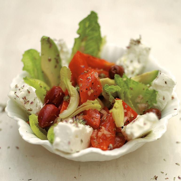 Jamie's Griekse salade