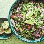 Salade Afghaanse stijl