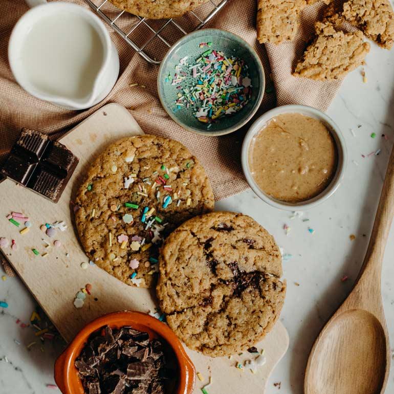 Vegan American cookies