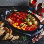 Italiaanse smokey tomatensaus